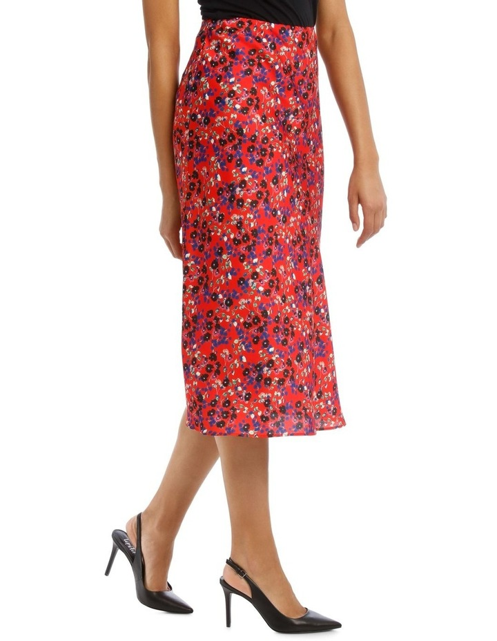 Red Daisy Doo Bias Skirt image 2