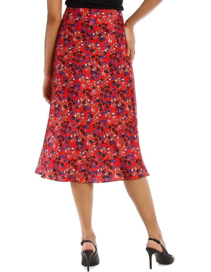 Red Daisy Doo Bias Skirt image 3