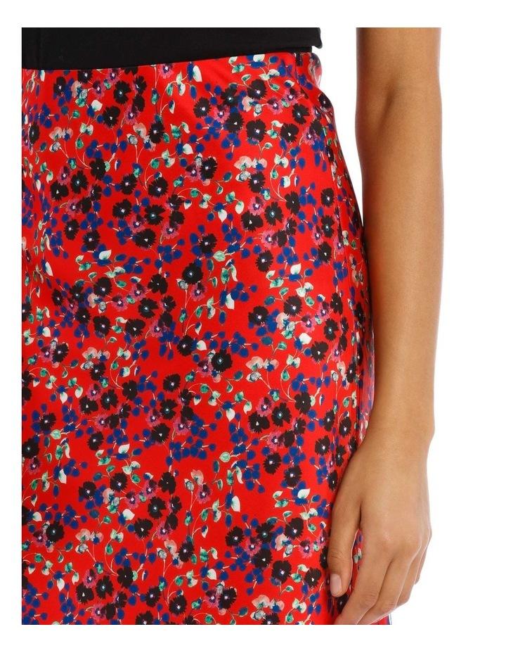 Red Daisy Doo Bias Skirt image 4