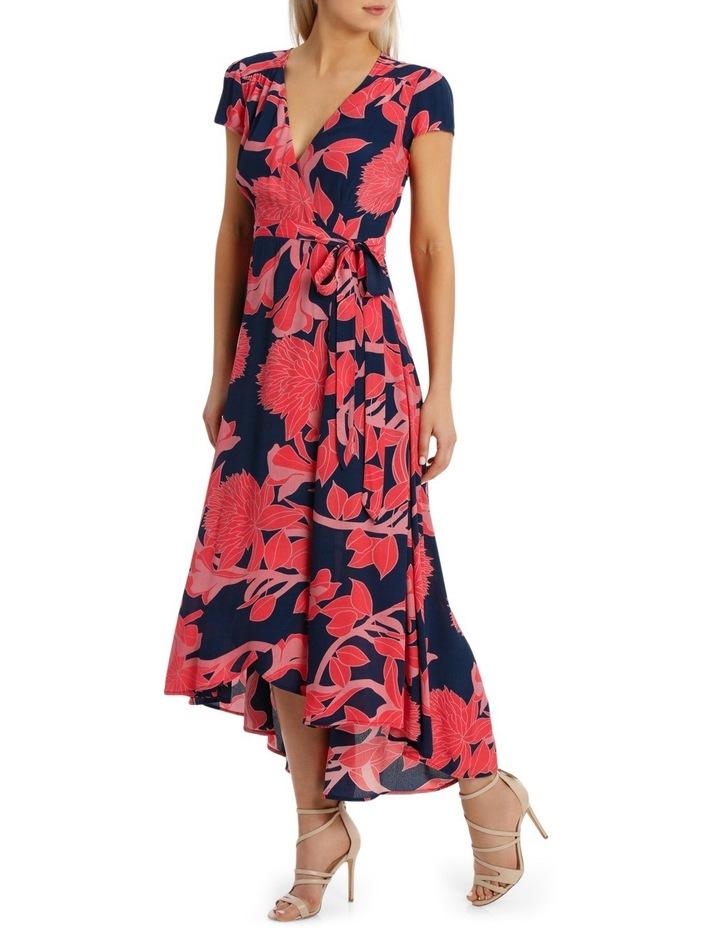 Wrap Frill Sleeve Dress image 2
