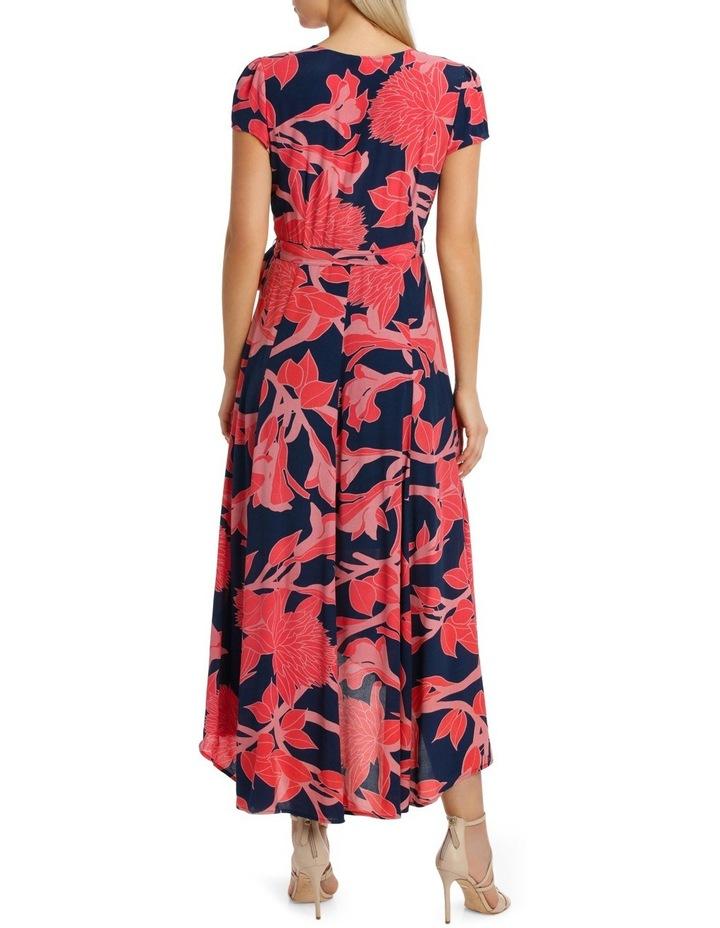 Wrap Frill Sleeve Dress image 3