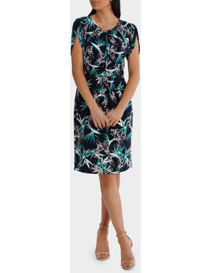 Tulip Sleeve Tuck Dress image 1
