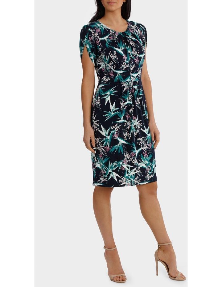 Tulip Sleeve Tuck Dress image 2