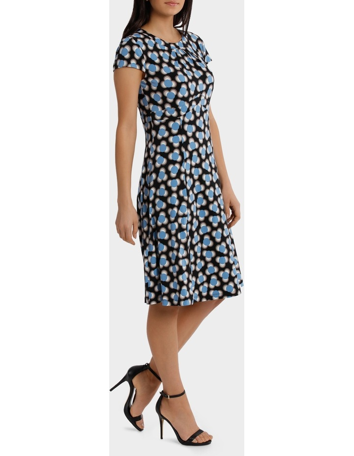Spot Shard Empire Swing Dress image 1