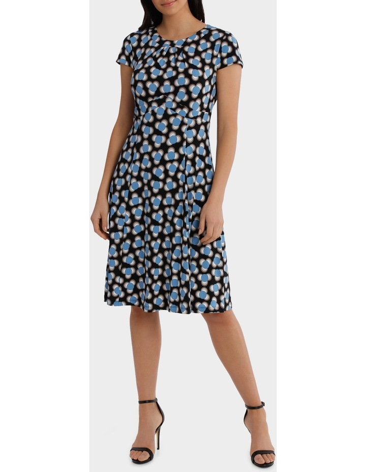 Spot Shard Empire Swing Dress image 2