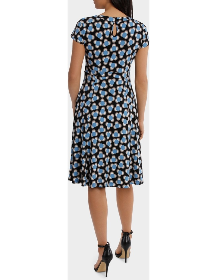 Spot Shard Empire Swing Dress image 3