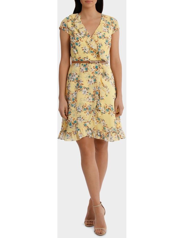 Buttercup Daisy Fields Print Ruffle Dress image 1