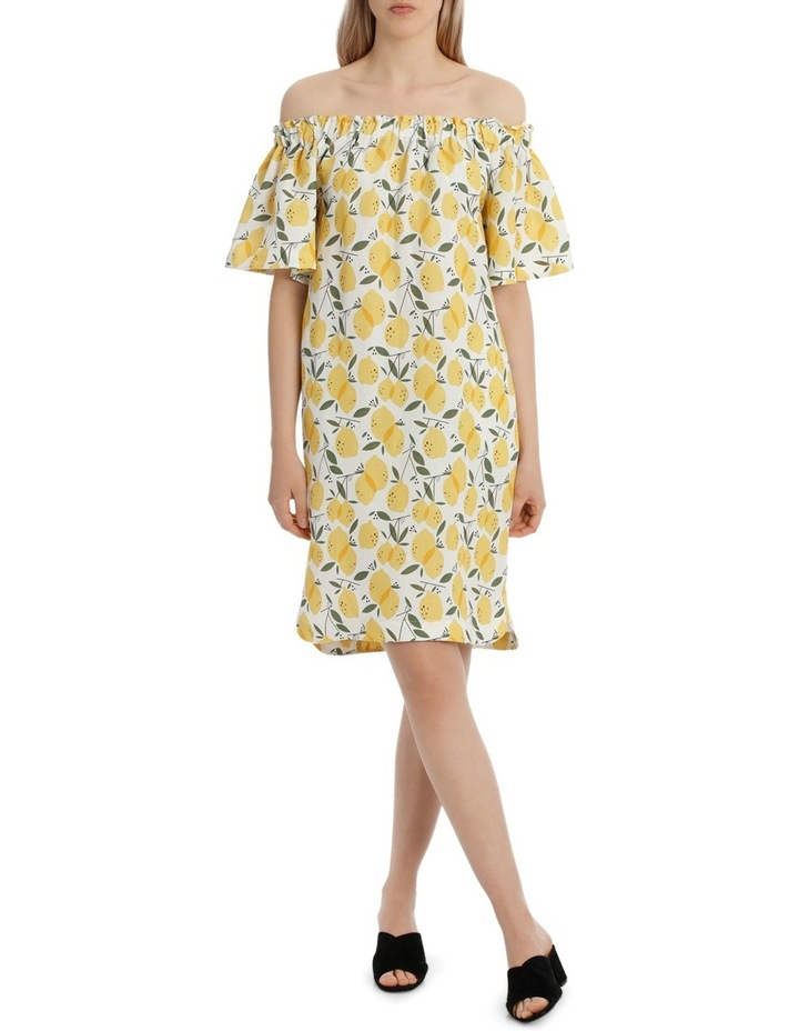 Lemoncello Off The Shoulder  Dress image 1