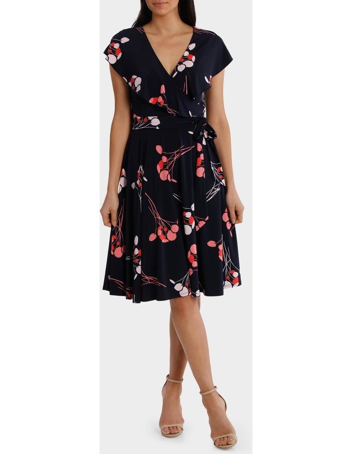 Wild Cherry Frill Swing Dress image 1