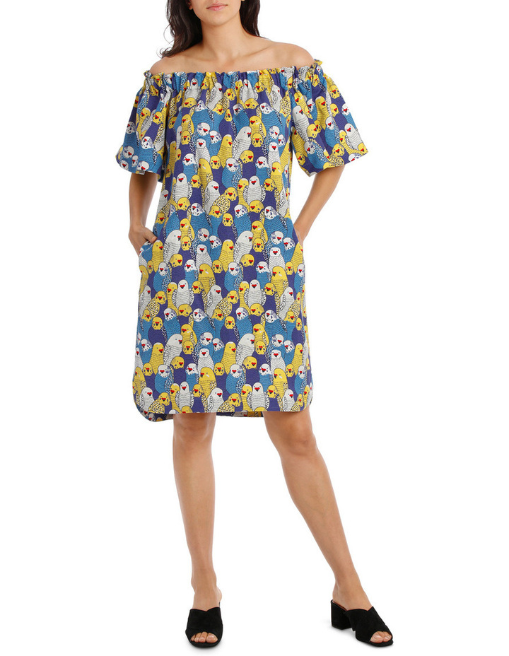 cd8f01ef2b289 Hi There From Karen Walker | Birdie Off The Shoulder Dress | MYER
