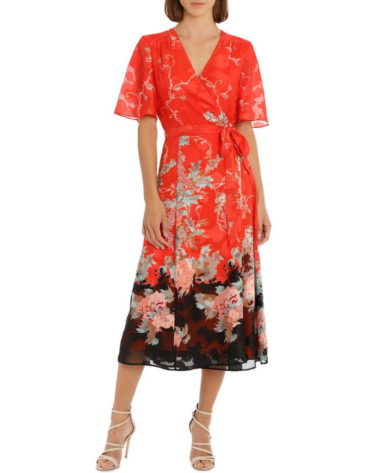Kimono Sleeve Wrap Dress image 1