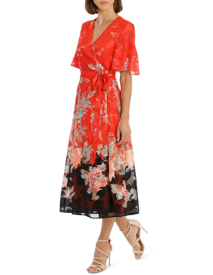 Kimono Sleeve Wrap Dress image 2