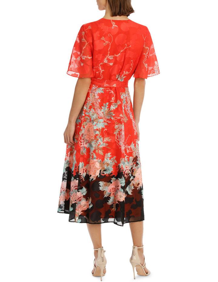 Kimono Sleeve Wrap Dress image 3