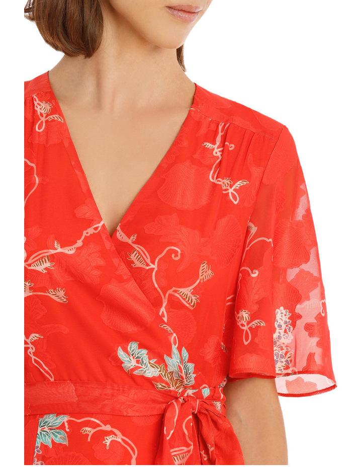 Kimono Sleeve Wrap Dress image 4