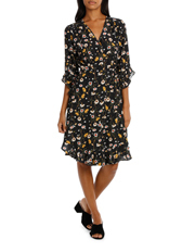 Hi There From Karen Walker - Daisy Chain Wrap Dress