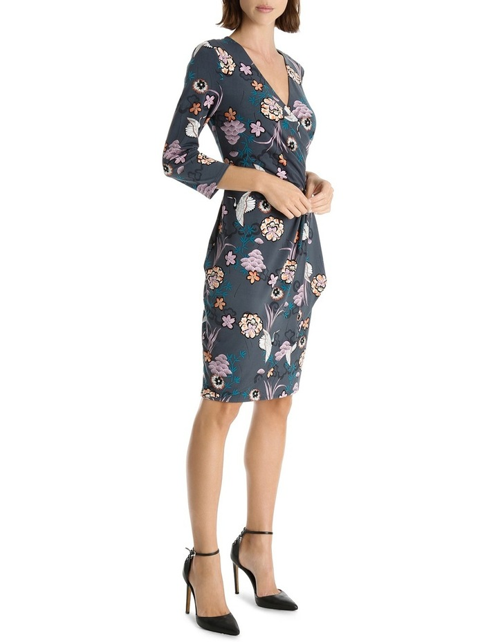 Princess Crane Frill Wrap Dress image 2