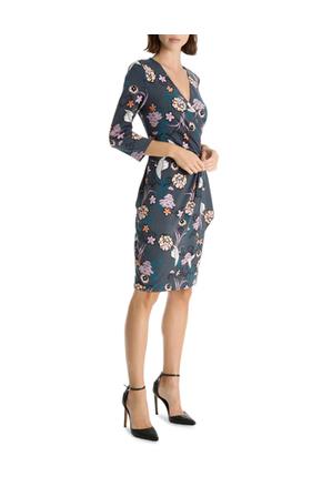 Leona by Leona Edmiston - Princess Crane Frill Wrap Dress