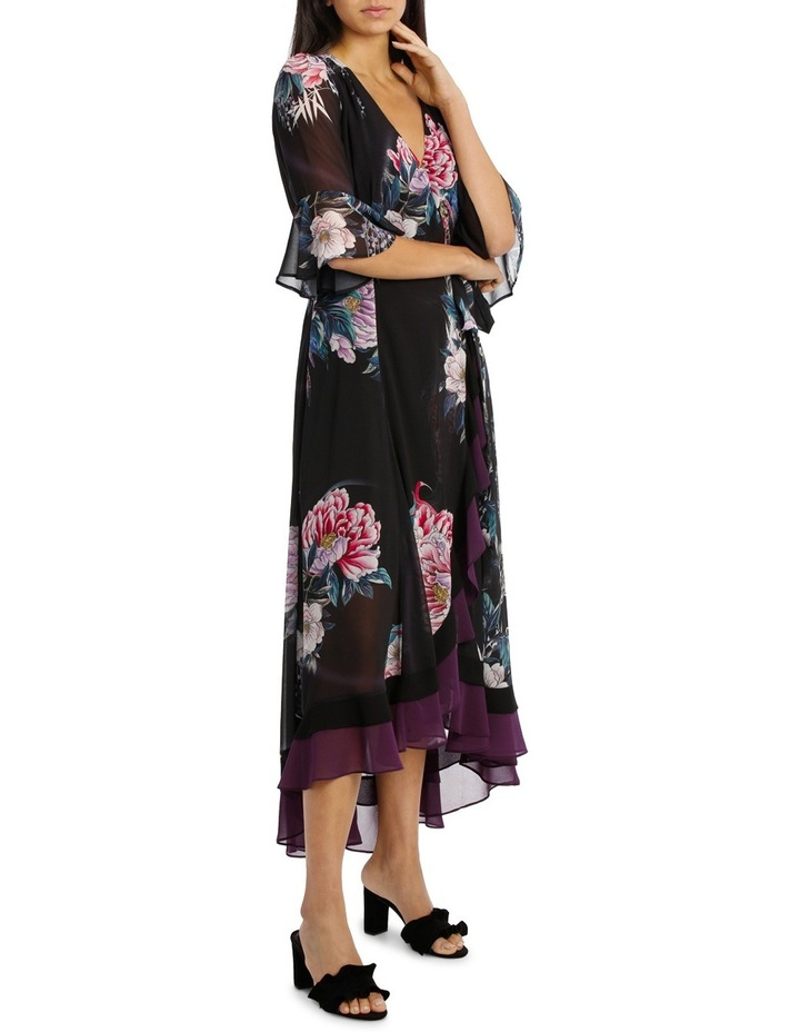 Winter Rivera Ruffle Border Maxi 3/4 Sleeve image 2