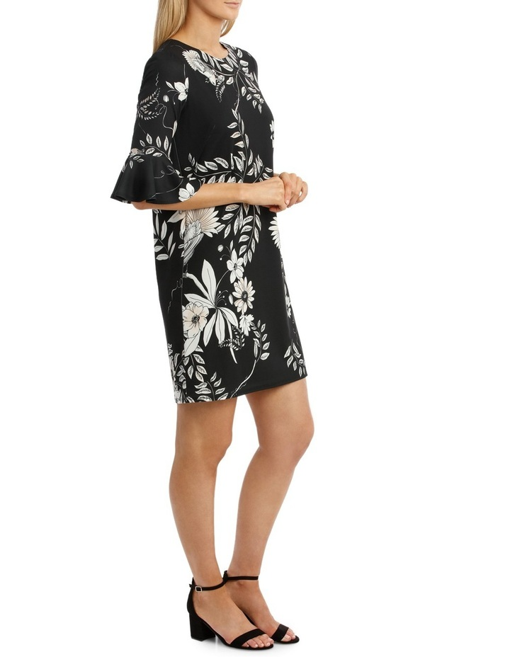 Hummingbird Wrap Dress With Sleeves image 2