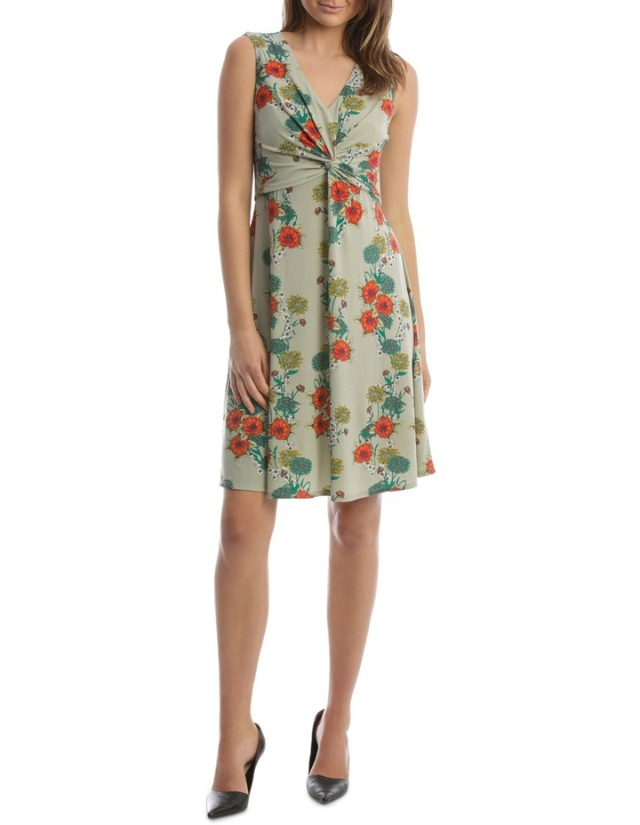 Daisy Twine Knot Front Dress image 1