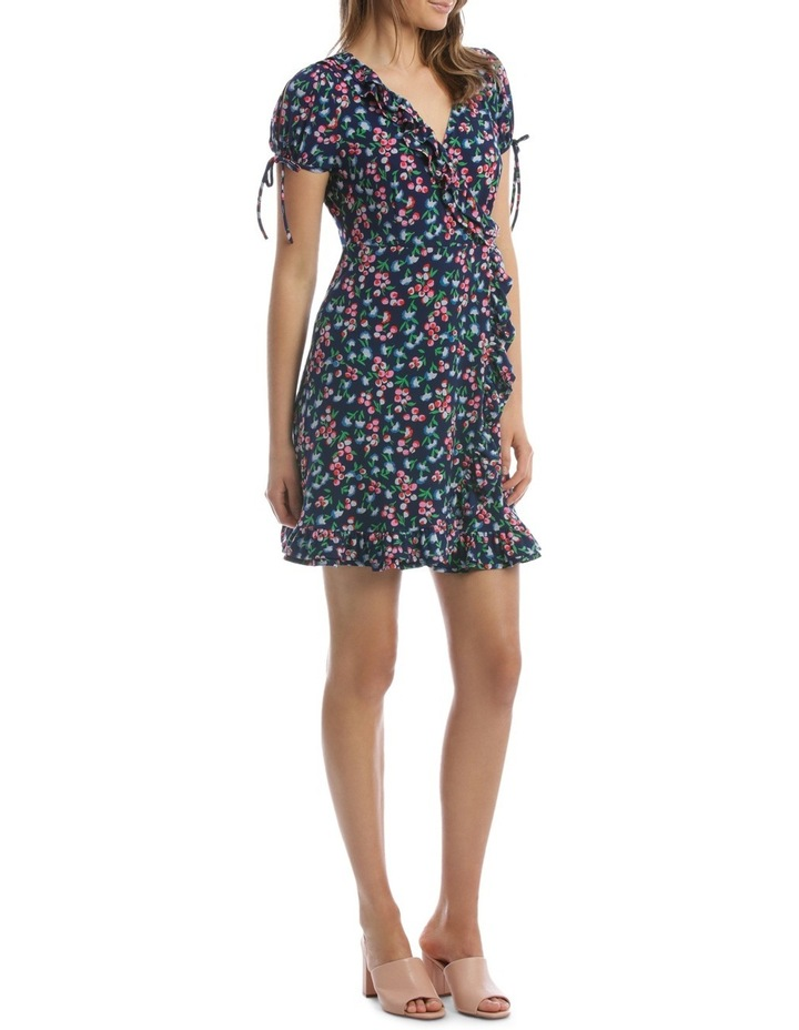 Baby Berry Jersey Mock Wrap Dress image 2