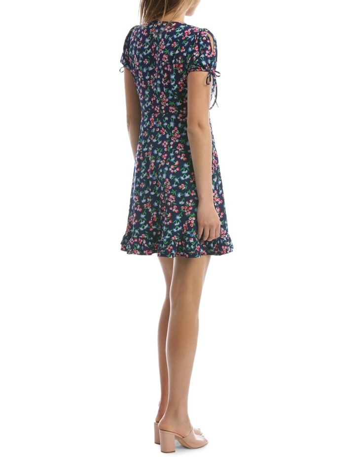 Baby Berry Jersey Mock Wrap Dress image 3