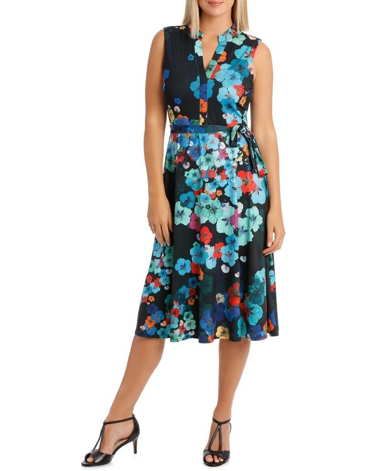 Kaleidoscope Sleeveless Shirtmaker Dress image 1