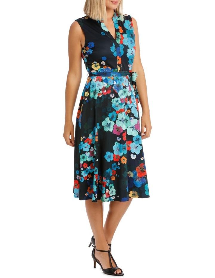 Kaleidoscope Sleeveless Shirtmaker Dress image 2