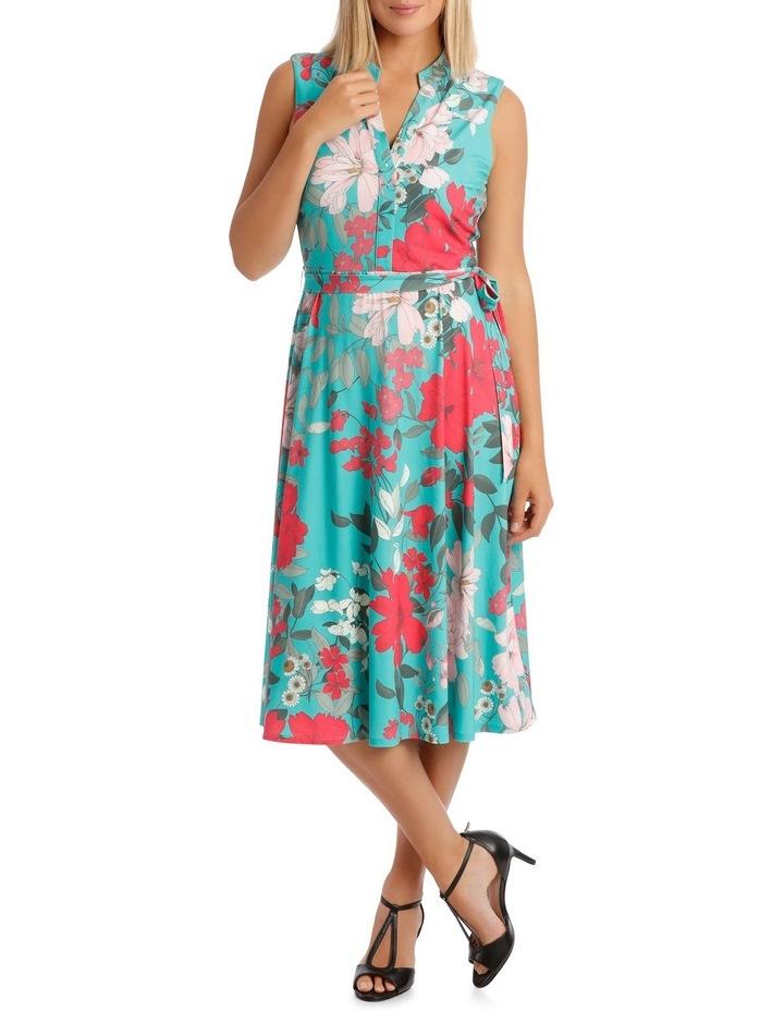 Tutti Fruity Sleeveless Shirtmaker Dress image 1