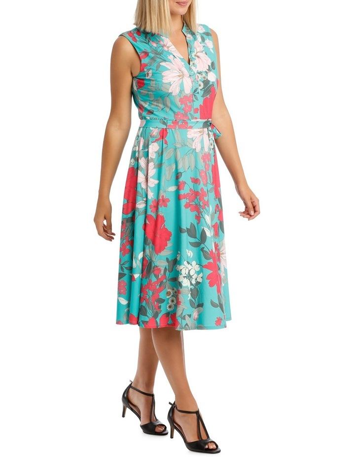 Tutti Fruity Sleeveless Shirtmaker Dress image 2