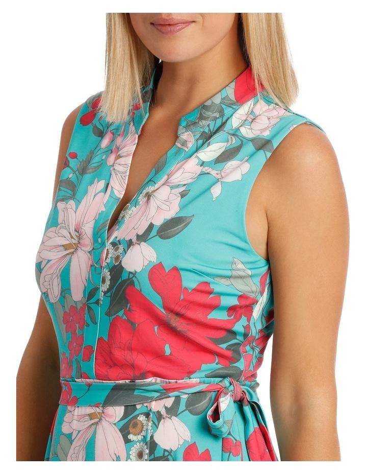 Tutti Fruity Sleeveless Shirtmaker Dress image 4