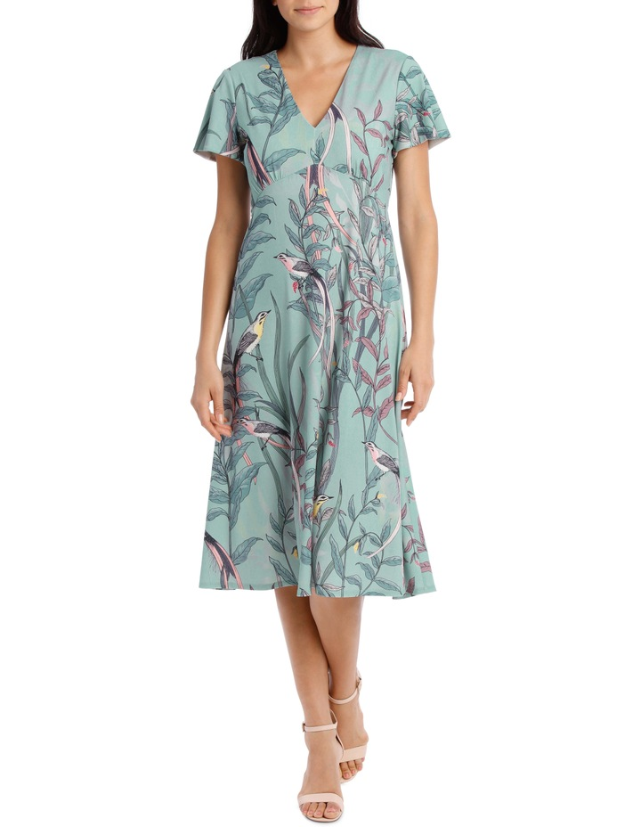 Lyrebird Gathered Bodice Dress image 1