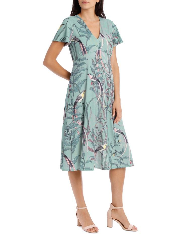 Lyrebird Gathered Bodice Dress image 2