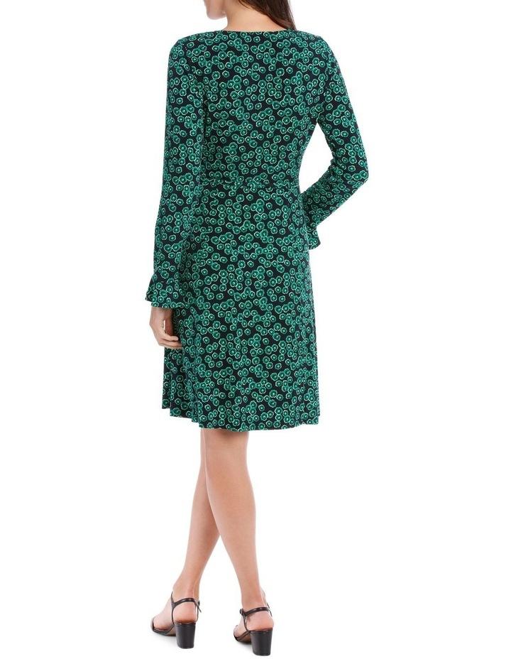 Emerald Mini Petunia Ruched Front Dress image 2