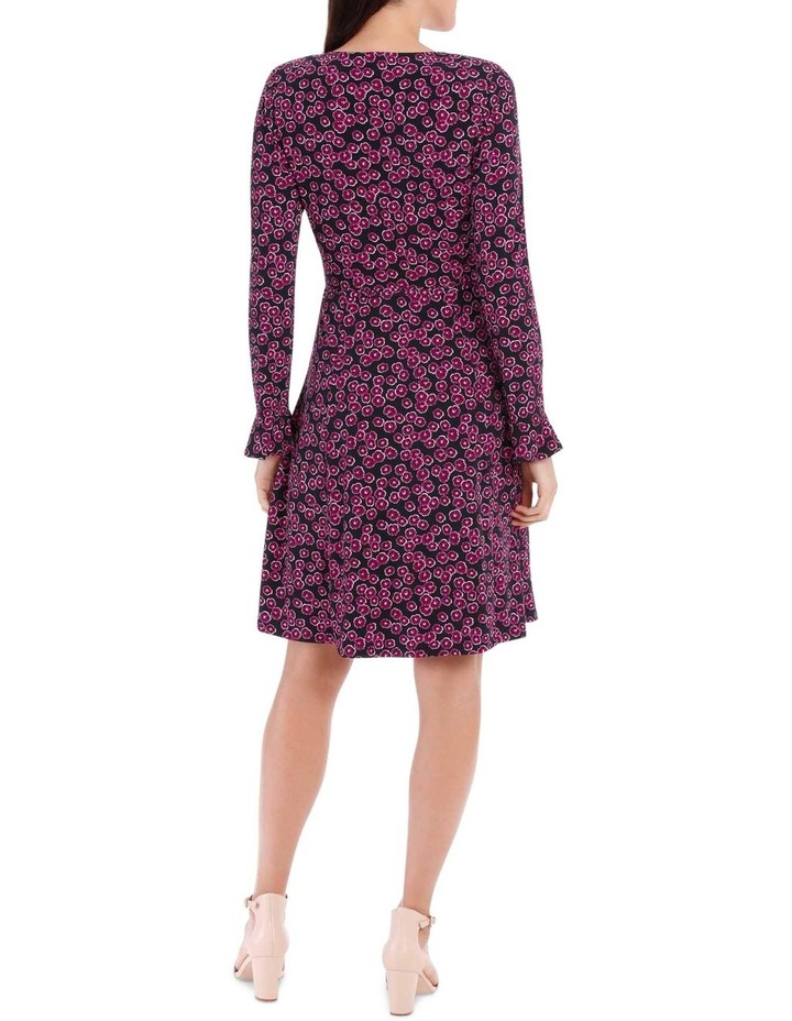 Magenta Mini Petunia Ruched Front Dress image 3