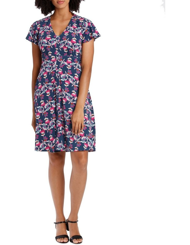 Airforce  Multi Leaf Shirtmaker Dress image 1