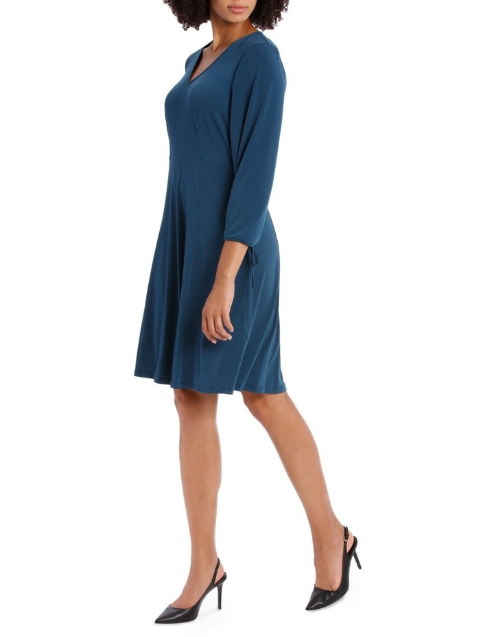 Midnight Long Sleeve V-Neck Dress image 2