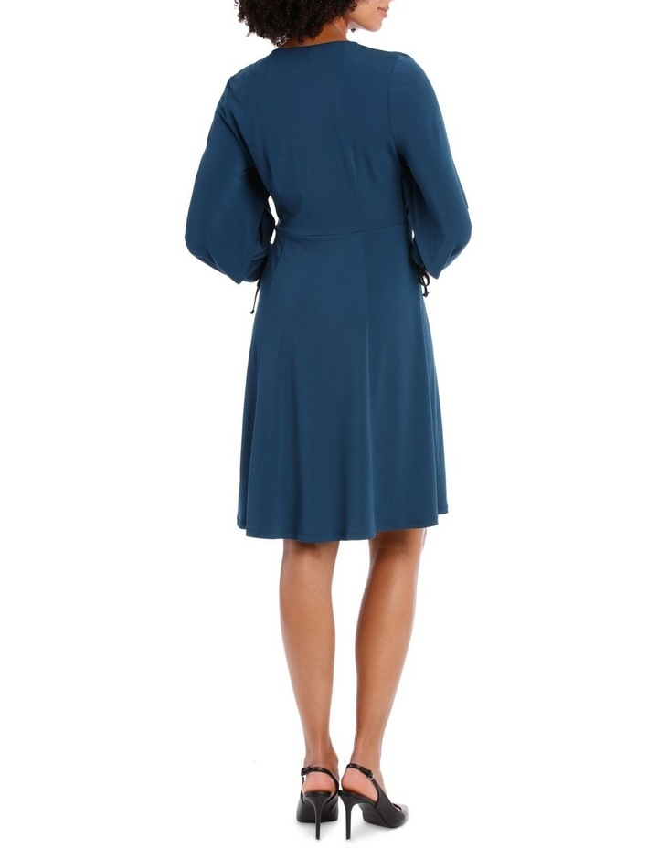 Midnight Long Sleeve V-Neck Dress image 3