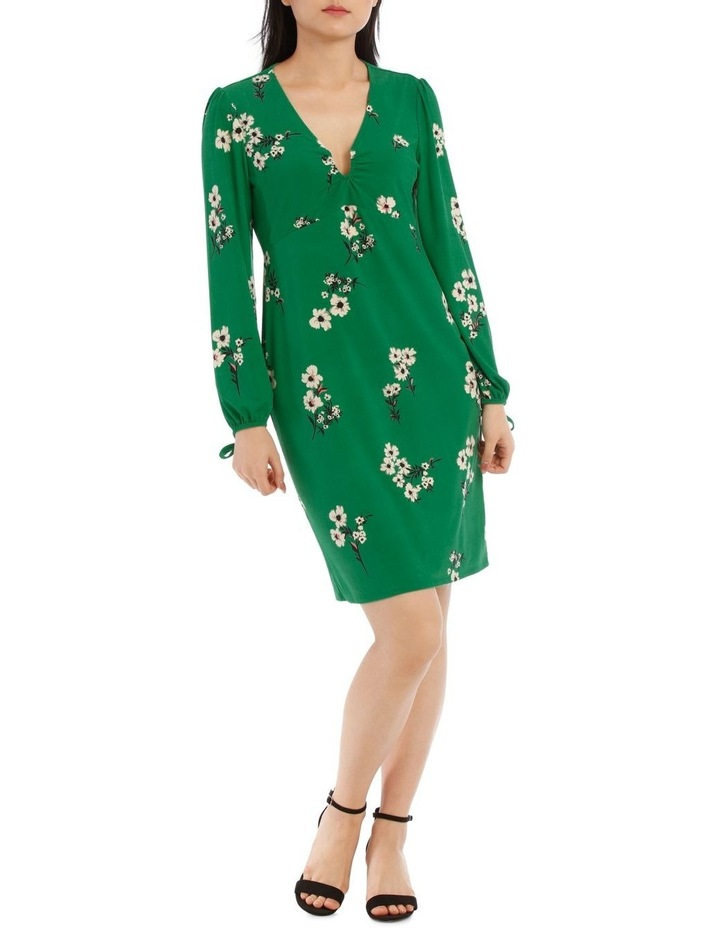 Emerald Spring U Wire Neck Dress image 1