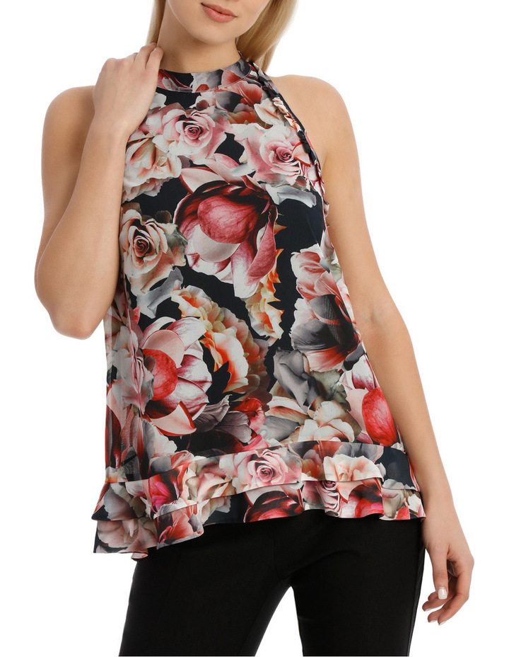 Paper Rose Halter Neck Top image 1