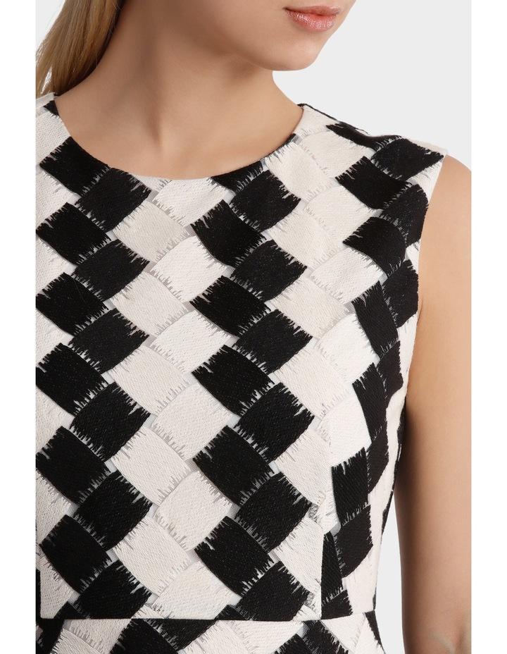 Black & White Tiered Dress image 4