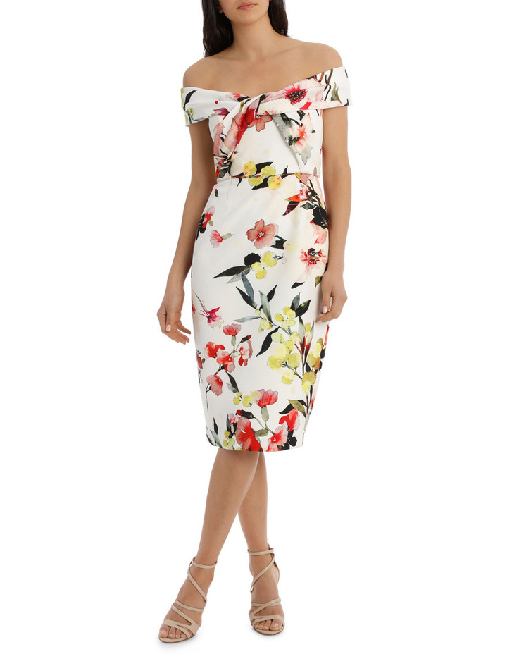 Blossom Twist Front Shift Dress image 1