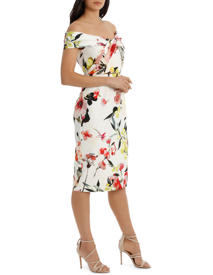 Blossom Twist Front Shift Dress image 2