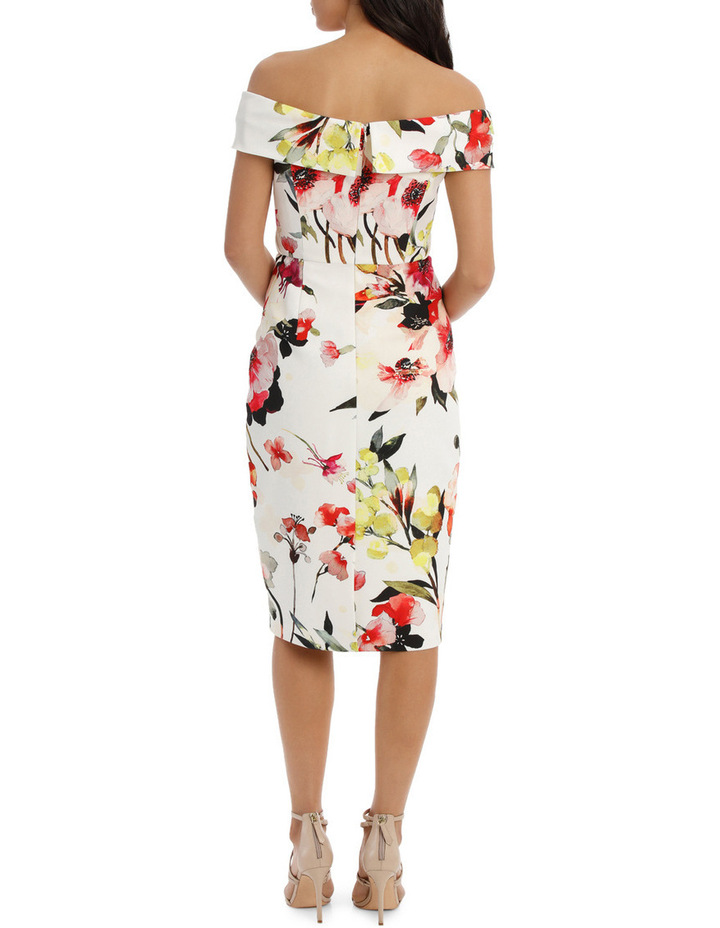 Blossom Twist Front Shift Dress image 3