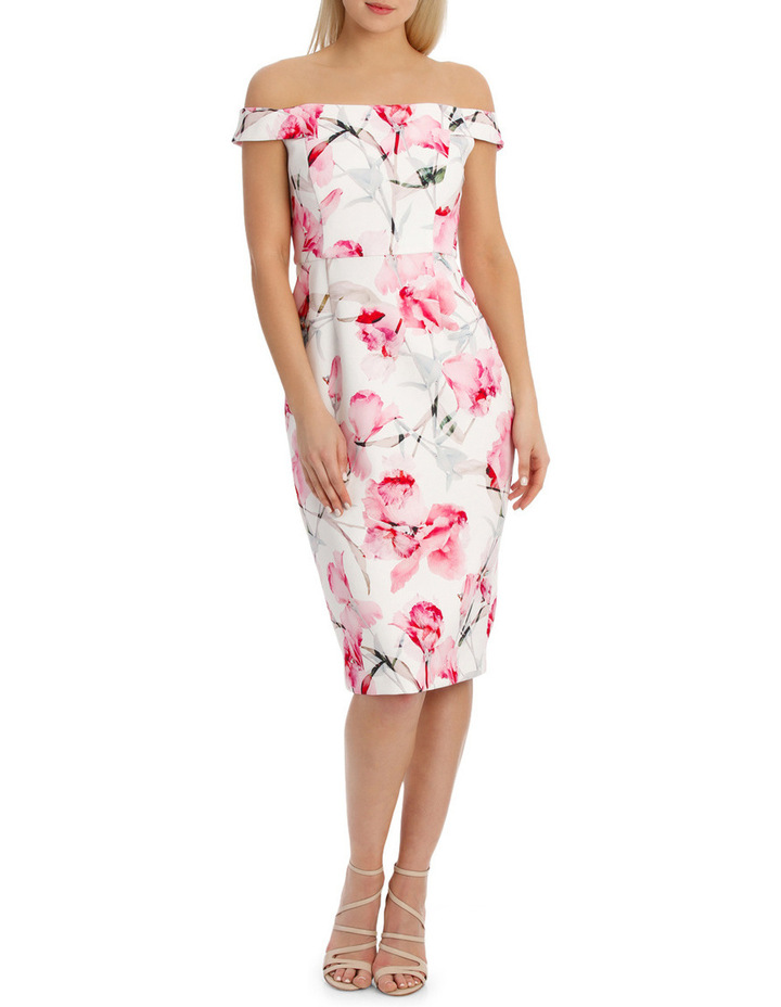 Canalilly Light Print Dress image 1