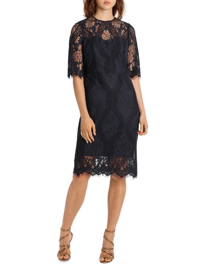 Night Sky Shift Lace Dress image 1