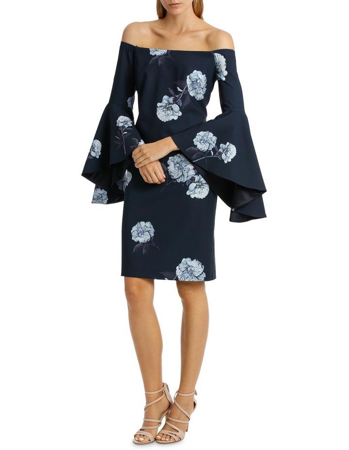 Off-Shoulder Inifinity Floral Dress image 1