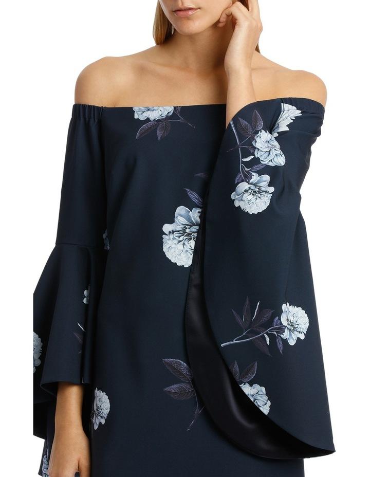 Off-Shoulder Inifinity Floral Dress image 4