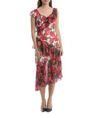 Flur Jolie Splice Off Shoulder Dress