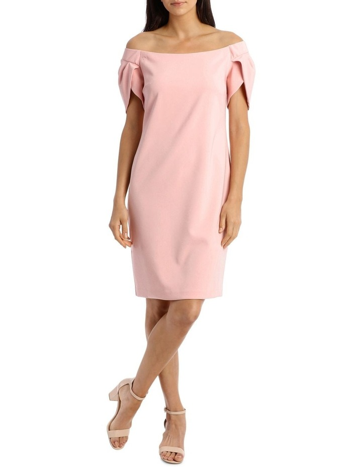 0a8123f41924 Musk Pink Off The Shoulder Dress image 1